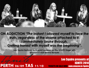 Lee Squires speaks on addiction