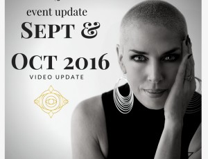 What's happening; Sept & Oct 2016